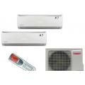 Мульти-сплит-системы TOSOT T14H-FM4/O / T07+07H-SLEuM/I на две комнаты по 20м2