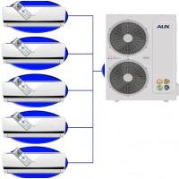 Мульти сплит-система на 5 комнат AUX AM5-H42\4DR1/AMWM-H07\4R1*5шт