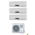 МУЛЬТИ-СПЛИТ-СИСТЕМА ELECTROLUX EACS/I-07HC *3+EACO/I-28 FMI-3 На три комнаты по 20м2