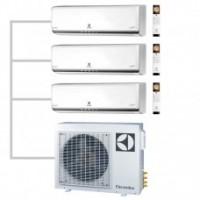 МУЛЬТИ-СПЛИТ-СИСТЕМА ELECTROLUX  EACS/I-07HP FMI/N3_ERP+09HP+12HP+EACO/I-24 FMI-3/N3_ERP  На три комнаты на 20м2 25м2 35м2