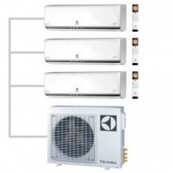 МУЛЬТИ-СПЛИТ-СИСТЕМА ELECTROLUX EACS/I-07HP*3+EACO/I-24 FMI-3/N3_ERP На три комнаты по 22м2