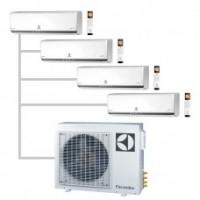 МУЛЬТИ-СПЛИТ-СИСТЕМА ELECTROLUX  EACS/I-07HP FMI/N3_ERP *4+EACO/I-28 FMI-4/N3_ERP На четыре комнат по 22м2