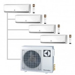МУЛЬТИ-СПЛИТ-СИСТЕМА ELECTROLUX EACS/I-07HP *4+EACO/I-28 FMI-4/N3_ERP На четыре комнат по 22м2