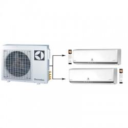 МУЛЬТИ-СПЛИТ-СИСТЕМА ELECTROLUX EACS/I-09HP *2+EACO/I-18 FMI-2 На две комнаты по 25м2