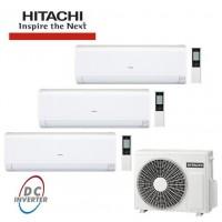 МУЛЬТИ СПЛИТ-СИСТЕМА Hitachi RAK-15QPB*3 + RAM - 53 NP3B на три комнат по 20м2