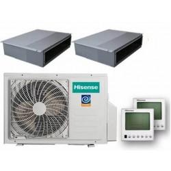 Hisense AMD-09UX4SJD+AMD-18UX4SJD +AMW3-24U4SZD На две комнаты 50м2 и 25м2