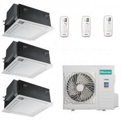 Мультисплит-система Hisense AMC-12UX4SAA*3+AMW3-24U4SZD На три комнаты по 25м2