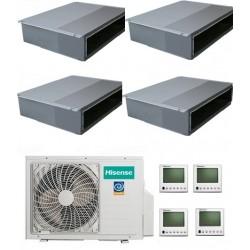Мультисплит-система Hisense AMD-09UX4SJD*3+AMD-18UX4SJD +AMW4-36U4SAC На четыре комнаты 50м2 и 25м2