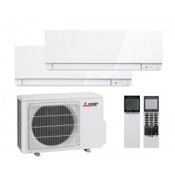 Mitsubishi Electric MSZ-EF22VE3W*2 + MXZ-2D33 VA на две комнаты по 22м2