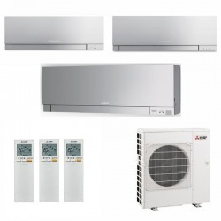 МУЛЬТИ СПЛИТ-СИСТЕМА MITSUBISHI ELECTRIC MSZ-EF22VE3S*3 + MXZ-3E68VA на три комнаты по 22м2