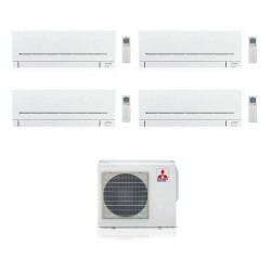 МУЛЬТИ СПЛИТ-СИСТЕМА MITSUBISHI ELECTRIC MSZ-SF25VE*4+MXZ-4E83VA на четыре комнаты по 25м2