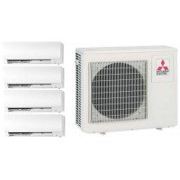 MITSUBISHI ELECTRIC MSZ-FH25VE2 *4 + MXZ-4E83VAHZ на четыре комнаты по 25м2 Zubadan