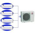 Мульти сплит-система MSZ-GE25VA *4 + MXZ-4D83VA на четыре комнаты по 25м2