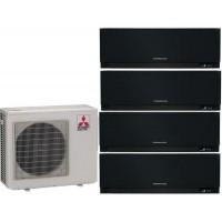 Мульти сплит-система MITSUBISHI ELECTRIC MSZ-EF22VE3B 4шт MXZ-4E72VA на четыре комнаты по 22м2