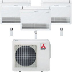 Mitsubishi Electric MFZ-KA35VA*3+MXZ-4E83VAHZ Zubadan -30°С три комнат по 30м2