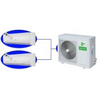 Мульти сплит-система Neoclima NUM-HI18-Q2/NS-W+09 на две комнаты по 25м2