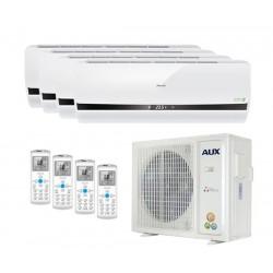 Мульти сплит-система на 4 комнаты AUX AM4-H36\4DR1/AMWM-H07\4R1*3шт AMWM-H12\4R1