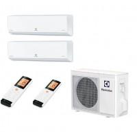 МУЛЬТИ-СПЛИТ-СИСТЕМА ELECTROLUX EACS/I-07HP_ERP+EACS/I-07HP_ERP+EACO/I-24FMI-3_ERP На две комнаты по 22м2