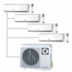 МУЛЬТИ-СПЛИТ-СИСТЕМА ELECTROLUX  EACS/I-09HP FMI/N3_ERP *4+EACO/I-28 FMI-4/N3_ERP На четыре комнат по 22м2