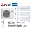 MITSUBISHI ELECTRIC MSZ-LN25VGW 2шт MSZ-LN35VGW MXZ-3E68VA на три комнаты 20м2 20м2 35м2
