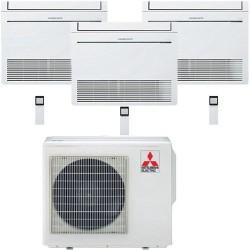 Mitsubishi Electric MFZ-KA35*3+MXZ-4E83VAHZ Zubadan -30°С три комнат по 30м2